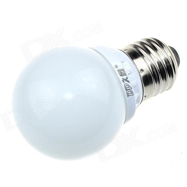 DP DP-QP2W01 E27 2W 180lm 6500K 5-SMD 5630 LED White Light Bulb - White (AC 180~240V)