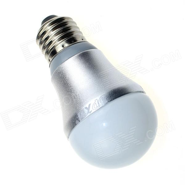 DP DP-QP5W01 E27 5W 400lm 6500K 8-SMD 5630 LED White Light Bulb - White + Silver (AC 90~240V)
