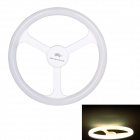 JoYda H18nu E27 18W 2000lm 4100K 80-SMD 2835 LED White Light Steering Wheel Lamp - White (AC 220V)