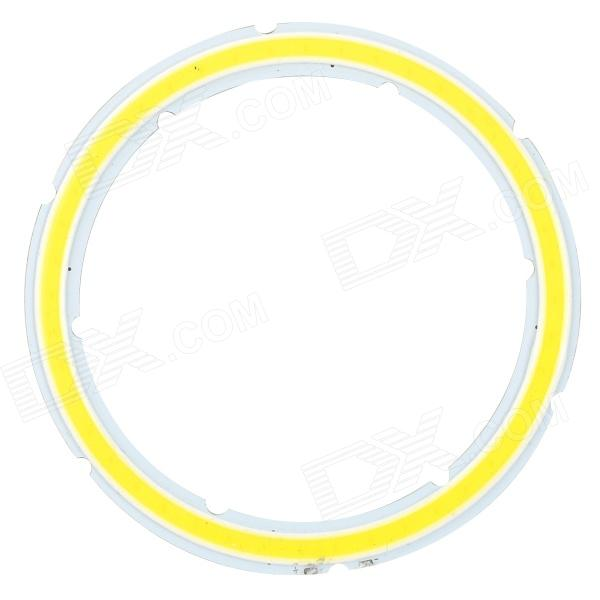JRLED 12W 1000lm 6500K 44-COB LED White Light Emitter Board - Silver + Fluorescent Yellow (DC 12V)BrandJRLEDMaterialAluminum alloy + siliconeForm  ColorSilver + Fluorescent YellowQuantity1 DX.PCM.Model.AttributeModel.UnitPowerOthers,12WRate VoltageDC 12VWorking Current800~1000 DX.PCM.Model.AttributeModel.UnitDimmableNoConnector TypeOthers,Soldering pointsEmitter TypeCOBTotal Emitters44Color BINWhiteBeam Angle140 DX.PCM.Model.AttributeModel.UnitColor Temperature6500KTheoretical Lumens1200 DX.PCM.Model.AttributeModel.UnitActual Lumens700~1000 DX.PCM.Model.AttributeModel.UnitOther FeaturesWith lifespan up to 50,000 hours; Chip brand: EpistarPacking List1 x Light emitter board<br>