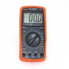 "2.8"" LCD Current/ Voltage/ Capacitance/ Resistance Digital Multimeter - Black + Orange (1 x 6F22)"