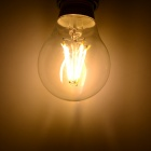 YouOKLight JL002 E27 4W 300lm 3000K Warm White 4-LED Filament Bulb - Transparent + White (AC 220V)