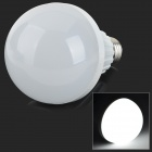 E27 9W 800lm 6500K 32-SMD 2835 LED White Light Bulb - White + Silvery Grey (AC 220~240V)