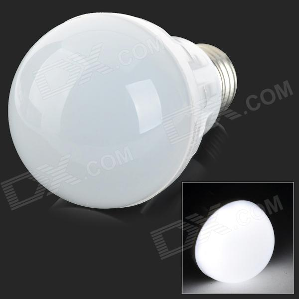 YouOKLight ADS-C5W E27 5W 300lm 6400K 9-SMD 5630 LED White Light Bulb - White (AC 220V)