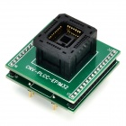 EP1M32 CNV to PLCC IC Programmer Socket Adapter - Black + Green