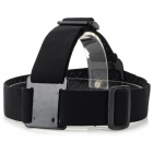 Head Band + Fixing Screw for GoPro 1 / 2 / 3 / 3+ - Black