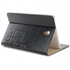 Stylish Flip Open PU Case w/ Stand / Auto-Sleep for 8.4'' Samsung T700 - Black