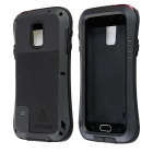 LOVE MEI AL01 Aviation Aluminum Alloy Case for Samsung Galaxy S5 - Black