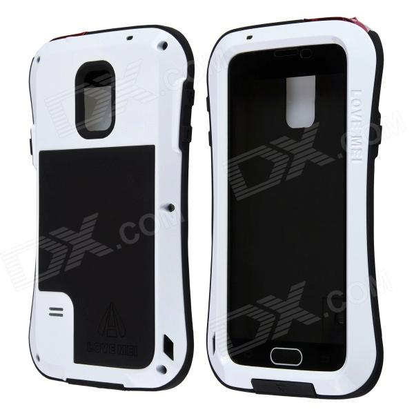 LOVE MEI AL01 Aviation Aluminum Alloy Case for Samsung Galaxy S5 - White