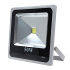 50W 4500lm 6000K 1 - LED White Light projektorer - Grå + Svart ( 90 ~ 240V )