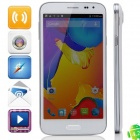 "S5 MTK6592 Octa-Core Android 4.4.2 WCDMA Bar Phone w/ 5.0"" IPS QHD, 8GB ROM, GPS, OTG - White"