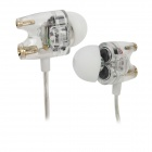 TTPOD T1 3.5mm Plug In-Ear Earphone - Translucent White
