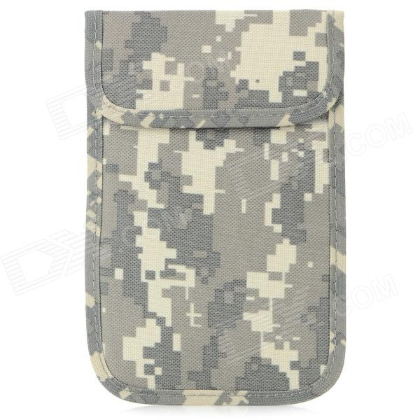 Professional Military Police Mobile Phone Signal Shielding Bag for Samsung Note 2 - Groovy Green
