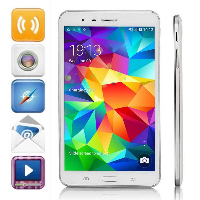 "AMPE A78 7.0"" FHD IPS Android 4.2.2 Octa-Core WCDMA Tablet PC w/ 2GB RAM, 16GB ROM, GPS, Wi-Fi"