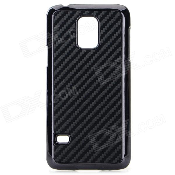 Protective Plastic Back Case for Samsung Galaxy S5 Mini - Black replacement back camera circle lens for samsung galaxy s5 g900 black