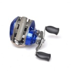 YINGLAITE 10+1 Axles Magnetic Brake Professional Aluminum Alloy Fishing Reel - Black + Silver + Blue