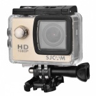 "SJ4000 1.5"" TFT 12.0 MP 2/3 CMOS 1080P Full HD Outdoor Sports Digital Video Camera - Gold"