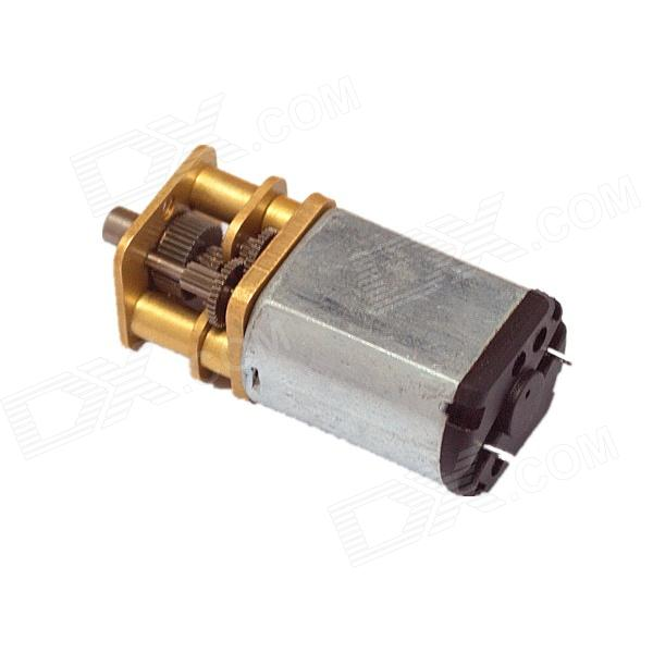 Chihaimotor 13mm 13GAGB DC 6.0V 25rpm Precise Gear Motor - Silver