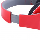 Ditmo DM-2600 3.5mm Adjustable Foldable Headband Noise Canceling Stereo Headphone - Red
