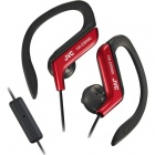 JVC HA-EBR80-R Sports Ear-Hook High Quality Headphones - Red
