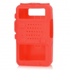 Protective Silicone Case for Baofeng 5R / 5RA / TYT / Quansheng / Puxing + More - Red