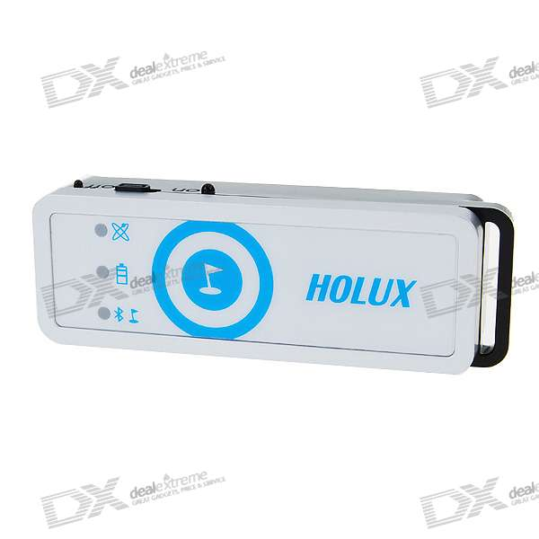 Holux M-1200E Bluetooth GPS Data Logger - White