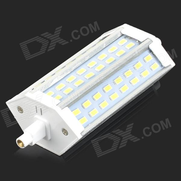 R7S 10W 700lm 6500K 48-SMD 5730 LED White Light Lamp - White + Silvery Grey (90~265V)