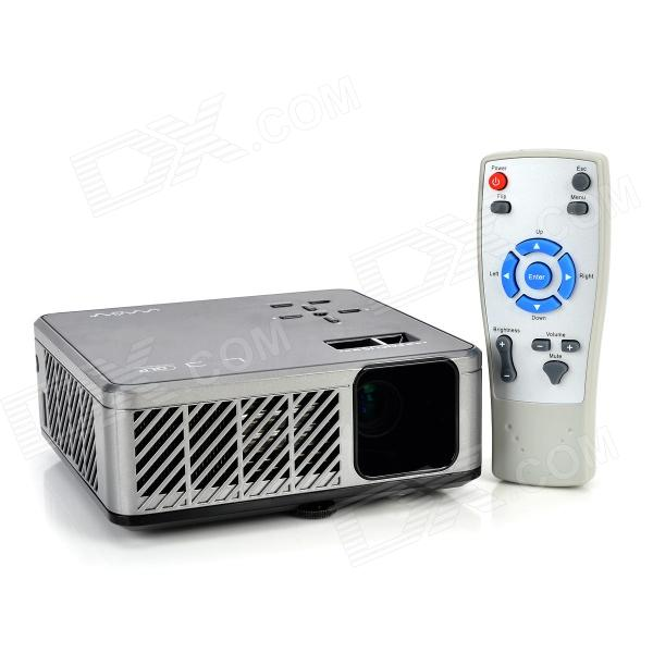 Mov 298c 200lm dlp led micro projector black silver for Micro dlp projector
