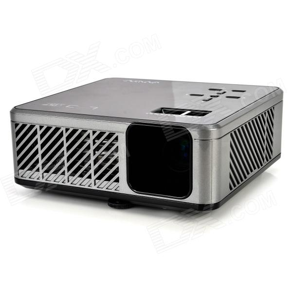 Mov 298c 200lm dlp led micro projector black silver for Dlp micro projector