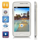 "Mijue M2000 SC7715 Android 4.4.2 WCDMA Bar Phone w/ 4.0"" Screen, GPS, FM - White"