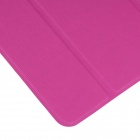 ENKAY Three-Fold Protective PU Flip Open Case for Samsung Galaxy Tab Pro 10.1 T520 - Deep Pink
