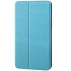 Protective PU Leather Flip Open Case w/ Stand for Samsung Galaxy Tab S 8.4 T700 - Sky Blue