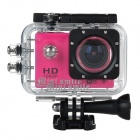 "SJ4000 FPV HD 1080P 1.5"" TFT 2/3"" CMOS Wide Angle Sports DV Camera w/ Wi-Fi - Pink + Black"