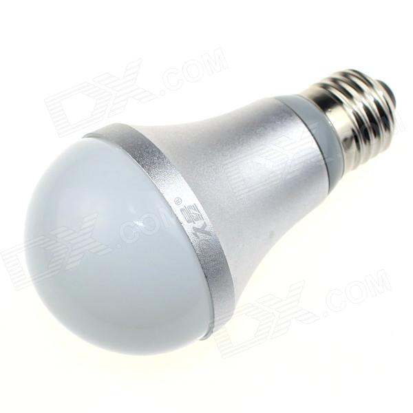 DP DP-QP7W01 E27 7W 560lm 6500K 14-SMD 5630 LED White Light Bulb - White + Silver (AC 90~240V)