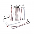 Walkera FPV TALI H500 R/C Hexacopter Spare Parts TALI H500-Z-24 Signal cable - White + Black + Red