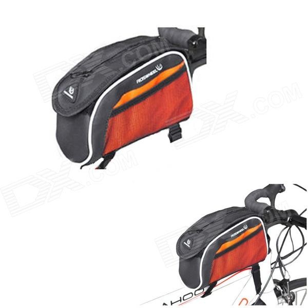 ROSWHEEL 12364 Bike Bicycle Polyester + PU Top Tube Bag / Shoulder Bag - Orange