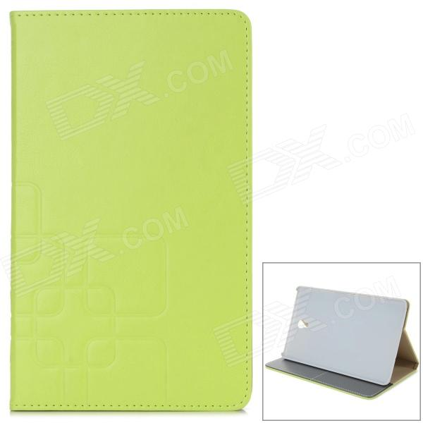 Stylish Flip Open PU Case w/ Stand / Auto-Sleep for 8.4'' Samsung T700 - Light Green