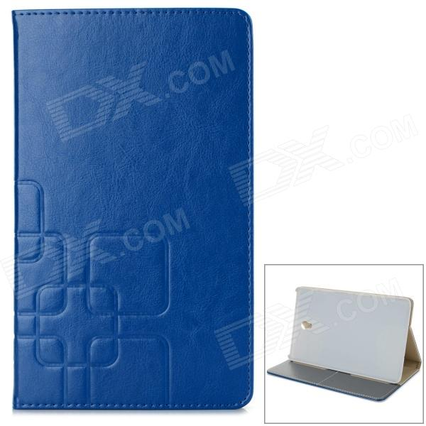 Stylish Flip Open PU Case w/ Stand / Auto-Sleep for 8.4'' Samsung T700 - Deep Blue