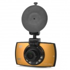 "Tripan TP806 2.7"" TFT CMOS 170° Wide-angle IR Night Vision Car DVR Video Recorder w/ 6-LED - Golden"