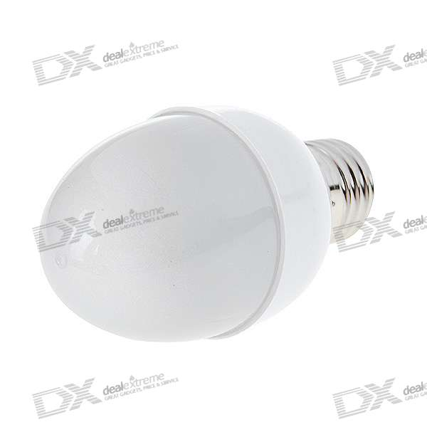 E27 2W 38-LED White Light Energy Saving Light Bulb (220V AC)