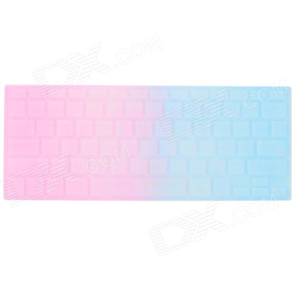 Ultra-thin Protective Plastic Sticker for 13'' / 13.3'' MACBOOK AIR Keyboard - Pink + Blue