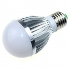 CXHEXIN S27-12W E27 12W 800lm 6000K 24-SMD 5630 LED White Light Bulb - White + Silver (AC 89~265V)