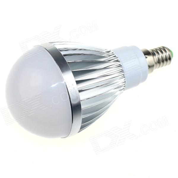 CXHEXIN S14-12W E14 12W 800lm 6000K 24-SMD 5630 LED White Light Bulb - White + Silver (AC 89~265V) cxhexin g9cx24 5630 g9 5w 3000k 400lm 24 5630 smd led warm white light bulb white ac 85 265v