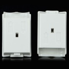 Battery Case Cover for XBOX 360 / 360 Slim Controller - White (5PCS)