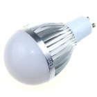 CXHEXIN S10-12W GU10 12W 800lm 6000K 24-SMD 5630 LED White Light Bulb - White + Silver (AC 89~265V)