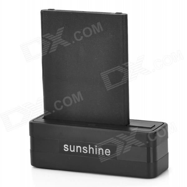 Sunshine Battery Charging Dock + 3.8V 3800mAh Battery + Charging Cable for LG G3