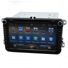 Capacitive Touch Screen 8'' Car Android 4.2 OSGPS Navigation DVD Player System for VW SKoda Series