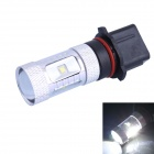 P13W 30W 650LM 6500K 6xCree XB-D R5 White LED Foglight for Car (DC10-30V)