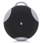 SLANG Round 3W Bluetooth V3.0 Multifunctional Speaker w/ Microphone, TF - Black