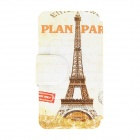 Kinston Eiffel Tower Pattern Protective PU Leather Flip Open Case w/ Stand for 5.0'' HTC Desire 816